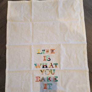 Anthropologie Tea Towel